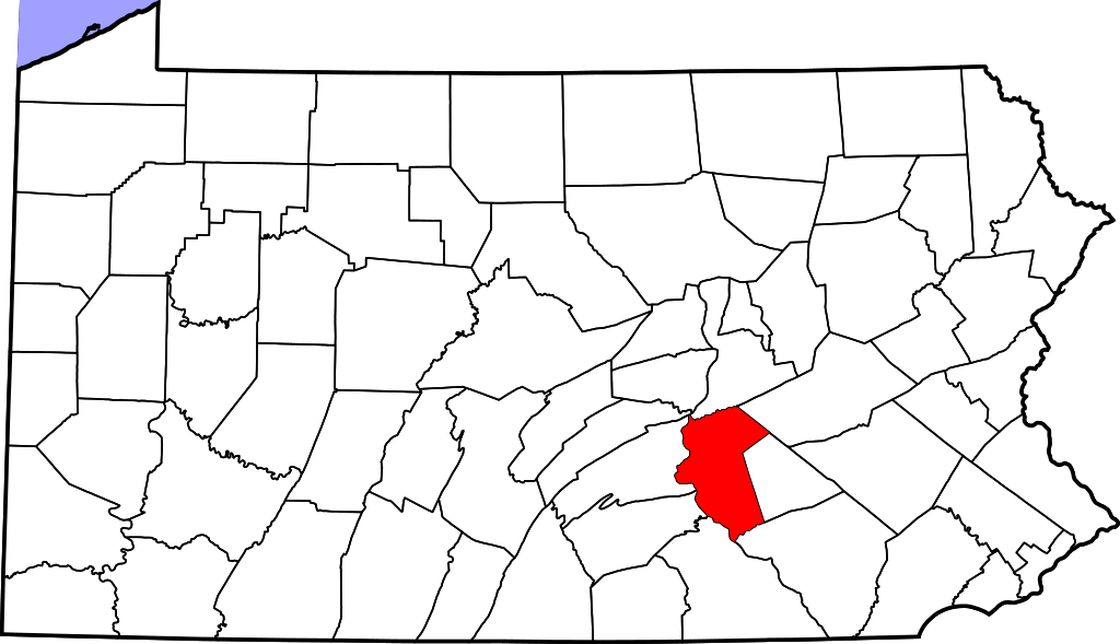 Dauphin County Map