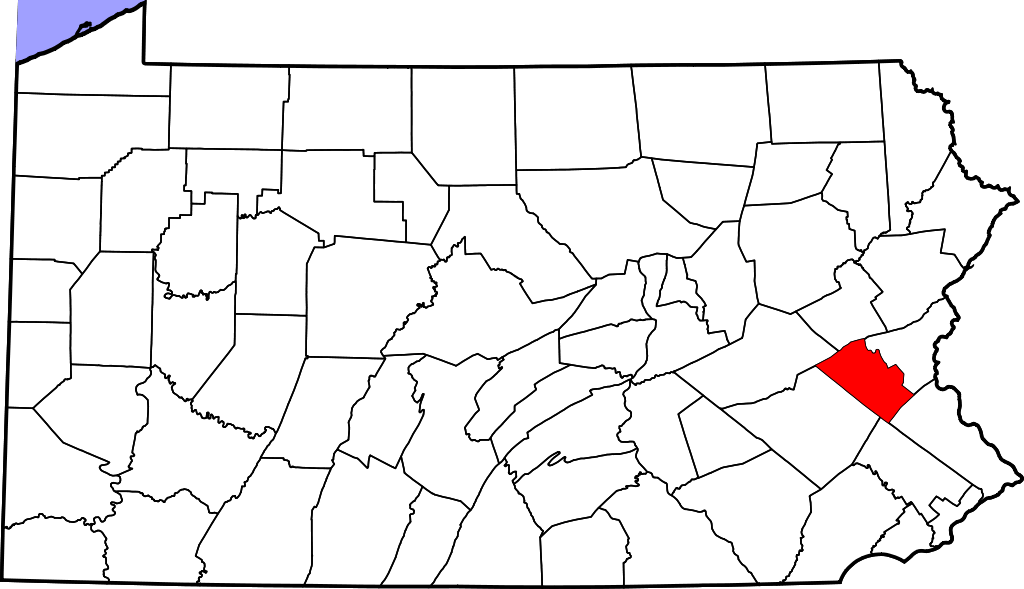Lehigh County Map